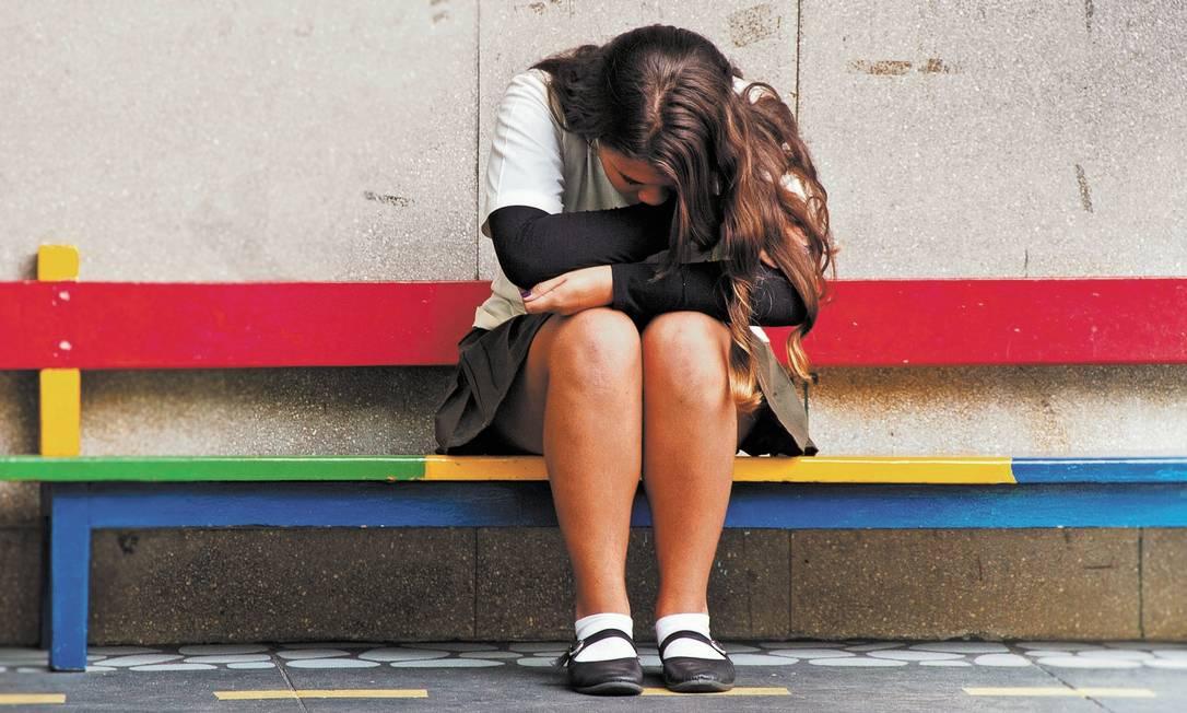 Além de predisposição genética, é preciso, em geral, que exista um ambiente opressor para que a criança desenvolva depressão, tal como rotina de bullying, violência doméstica ou situação de extrema pobreza Foto: Elisa Mendes/12-7-2012