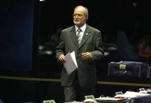 O ex-governador Eduardo Azeredo, condenado no processo do mensalão tucano Foto: Ailton de Freitas / Agência O Globo - 08/09/2009