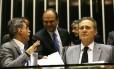 O senador Renan Calheiros (PMDB-AL) encerra o ano legislativo