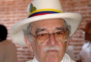 Gabriel García Márquez em Cartagena Foto: MANUEL PEDRAZA / MANUEL PEDRAZA/El Tiempo/GDA