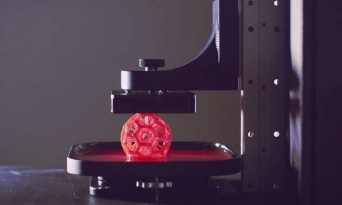 Carbon 3D, uma das técnicas de impressão 3D que surgiram ao longo do ano Foto: Arquivo