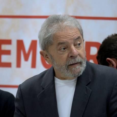 O ex-presidente Luiz Inácio Lula da Silva Foto: Marcos Alves - 07/12/2015