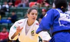 Mayara Aguiar é esperança de medalha para o Brasil na Rio-2016 no judô Foto: Rafal Burza / Divulgação / CBJ