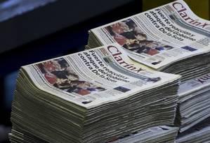 Justiça argentina anula divisão do grupo Clarín imposta pelo governo Kirchner Foto: Natacha Pisarenko / AP