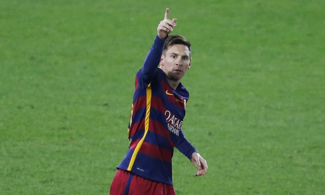 Messi marcou nas últimas três finais de Mundial que o Barcelona disputou Issei Kato / REUTERS