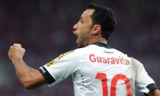 Nenê marcou nove gols no último Campeonato Brasileiro Foto: Márcio Alves / Agência O Globo