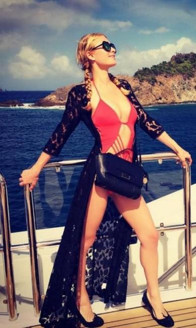 Paris Hilton e seu diário de viagem Reprodução/ Instagram