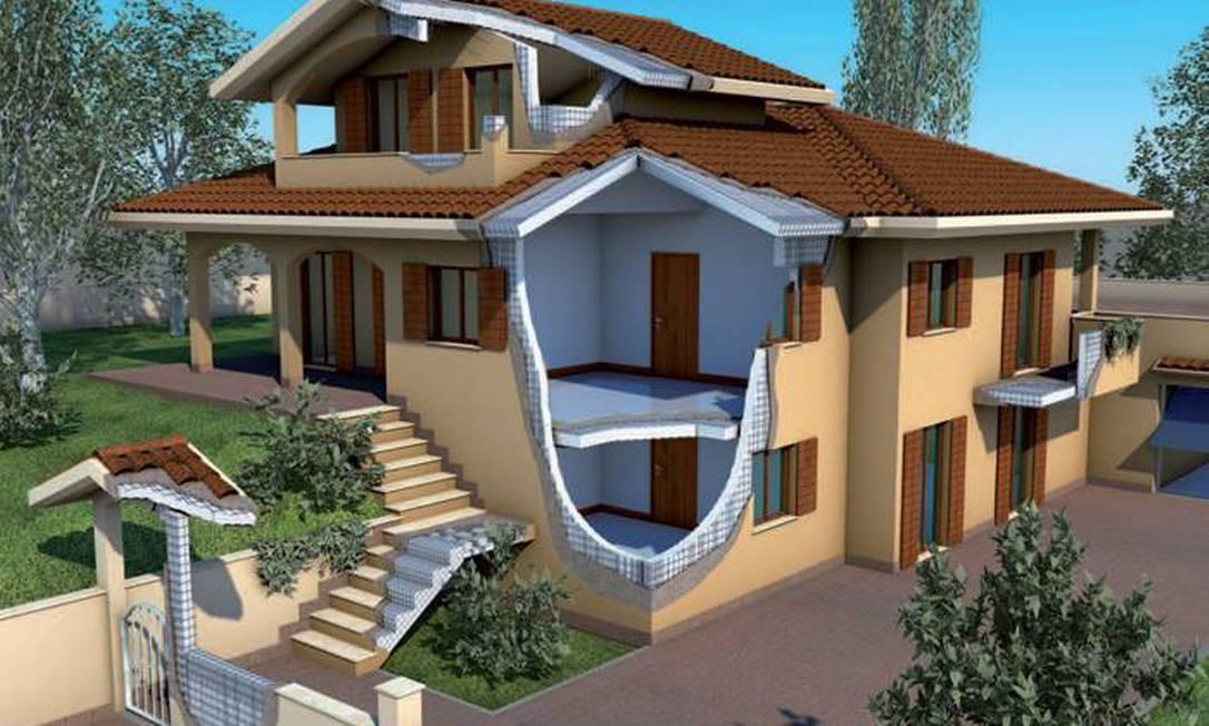 Moderno sistema constrói casas com economia em 60% do tempo
