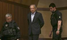O ex-ministro José Dirceu cumpre pena em regime fechado Foto: Geraldo Bubniak / Agência O Globo / Arquivo 31/08/2015