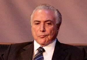 O vice-presidente, Michel Temer Foto: Pedro Kirilos / Arquivo O Globo 11/12/2015