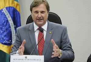 Relator das contas presidenciais de 2014, senador Acir Gurgacz (PDT-RO) Foto: Agência Senado