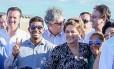 Dilma inaugura estação de bombeamento do Eixo Leste do Projeto de Integração do Rio São Francisco