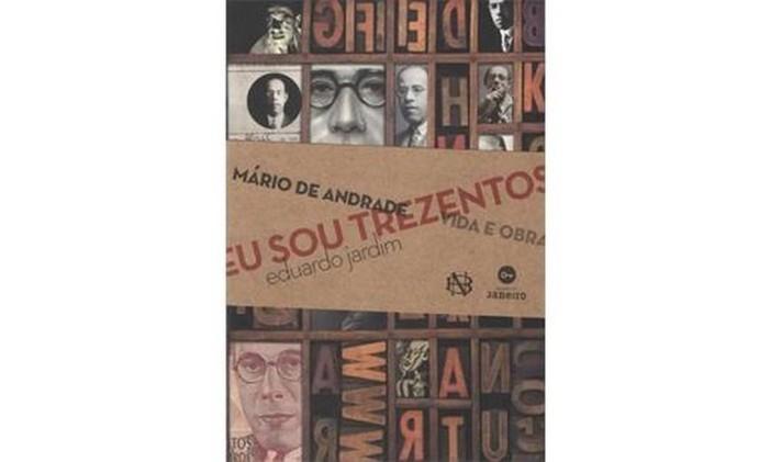 Capa do livro 'Eu sou trezentos', de Eduardo Jardim Foto: Reprodução