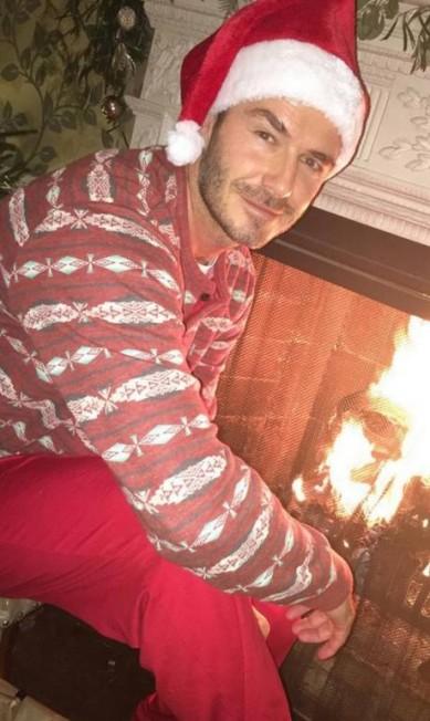 David Beckham ganhou elogio da mulher, Victoria: 'Melhor Papai Noel' Instagram