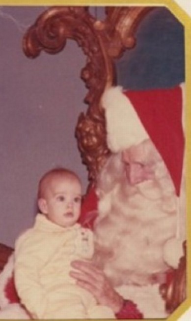 Reconhece esse bebê assustado? É Brooke Shields! Instagram