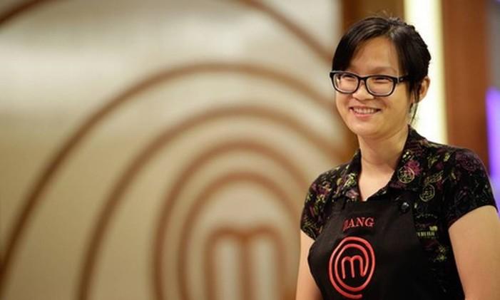 Jiang Pu não ganhou o Masterchef, mas se tornou uma das favoritas do público Foto: Band/Divulgação