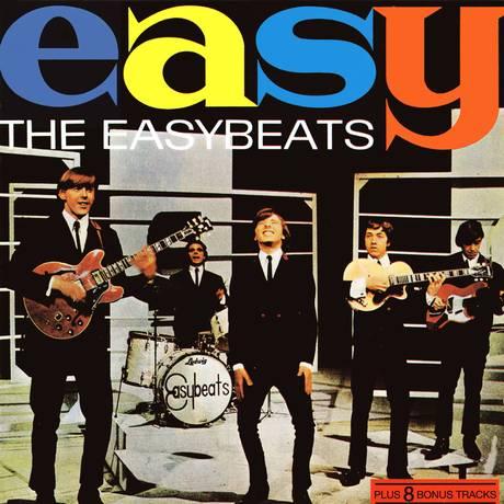 Wright, ao centro, junto aos Easybeats Foto: Reprodução
