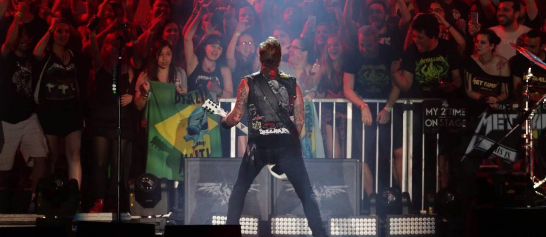 Show do Metallica no segundo dia de Rock in Rio Foto: Márcio Alves / Agência O Globo