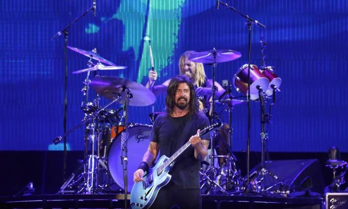 Show do Foo Fighters no Maracanã Foto: Fabio Rossi / Agência O Globo
