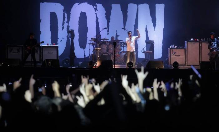 System of a Down na Cidade do Rock Foto: Pedro Kirilos / Agência O Globo