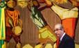 O presidente da Câmara dos Deputados, Eduardo Cunha (PMDB-RJ), recebe jornalistas setoristas para café da manhã de confraternização