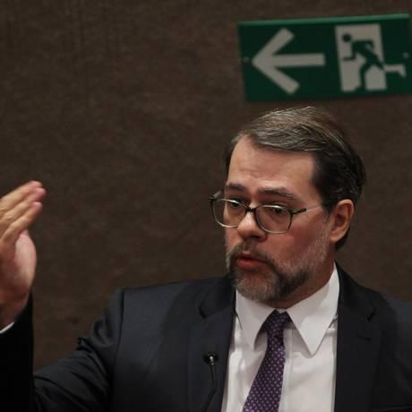 O ministro do STF Dias Toffoli Foto: Givaldo Barbosa / Agência O Globo / 10-9-2015
