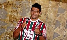 Diego Souza, o principal reforço do Fluminense para a temporada Foto: Divulgação/Fluminense