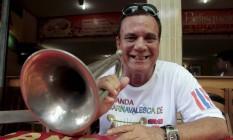 Paulinho vai anunciar seu sucessor durante o carnaval Foto: Fernanda Dias / Agência O Globo