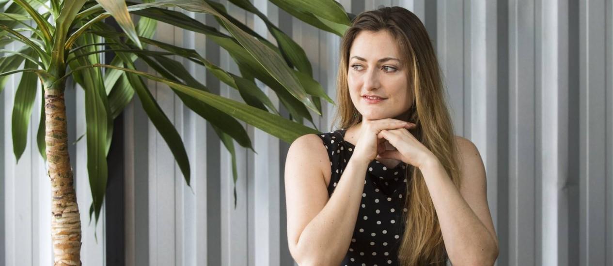 De acordo com a empreendedora Lois Warner, competências socioemocionais podem ser desenvolvidas por computadores Foto: Ana Branco / Agência O Globo