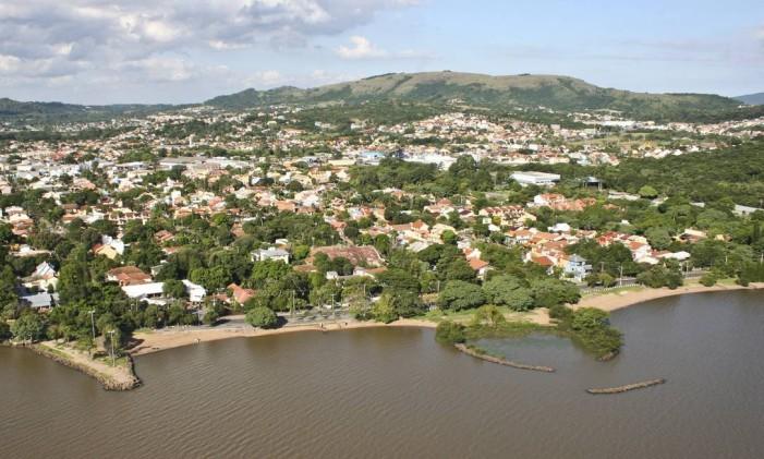 Do alto. Vista aérea do bairro de Ipanema, em Porto Alegre Foto: Ivo Gonçalves