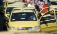 Tabelas de táxis sofrem reajuste a partir de sábado
