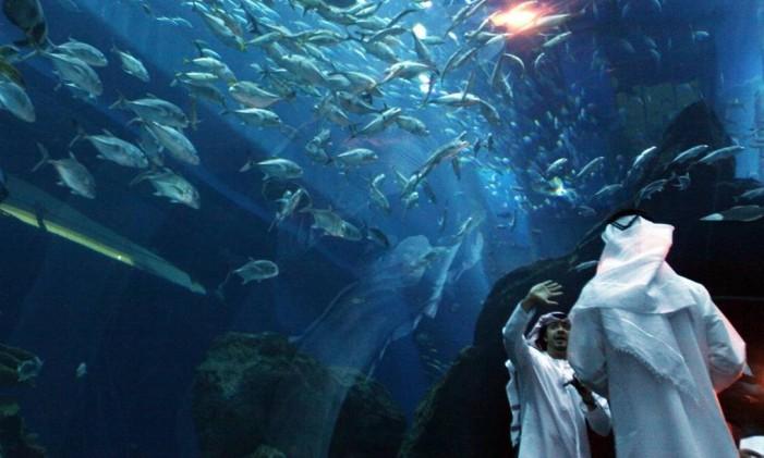 Dubai, nos Emirados Árabes Foto: Tamara Abdul Hadi / The New York Times