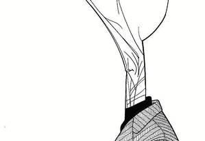 Caricatura de Samuel Beckett, por Loredano Foto: Loredano