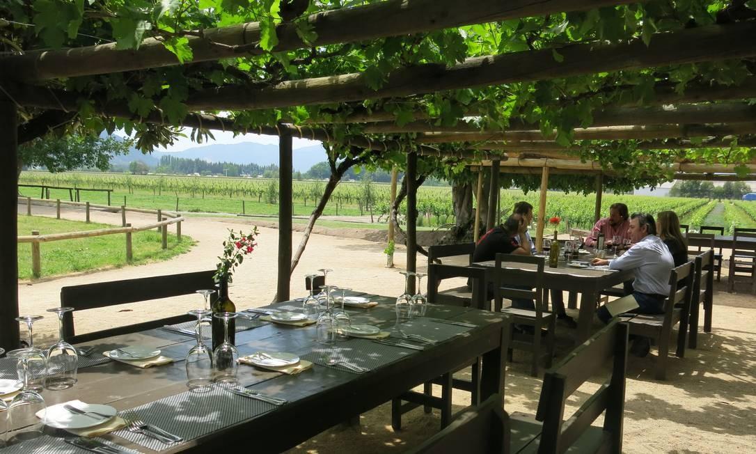 O restaurante Rayuela é um dos destaques da Viu Manent Foto: Cláudia Meneses / O Globo