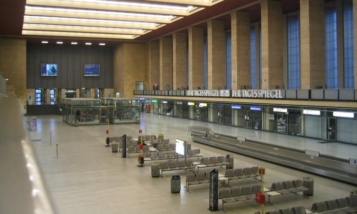 Terminal desativado do Aeroporto Tempelhof, em Berlim Foto: Creative Commons