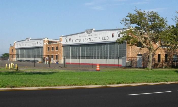 O aeroporto Floyd Bennett Field, em Nova York Foto: Divulgação