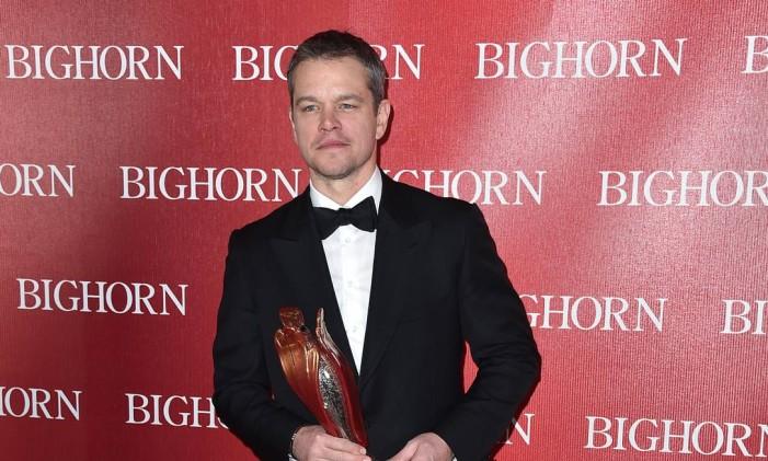 O elegante Matt Damon Foto: Jordan Strauss / Jordan Strauss/Invision/AP