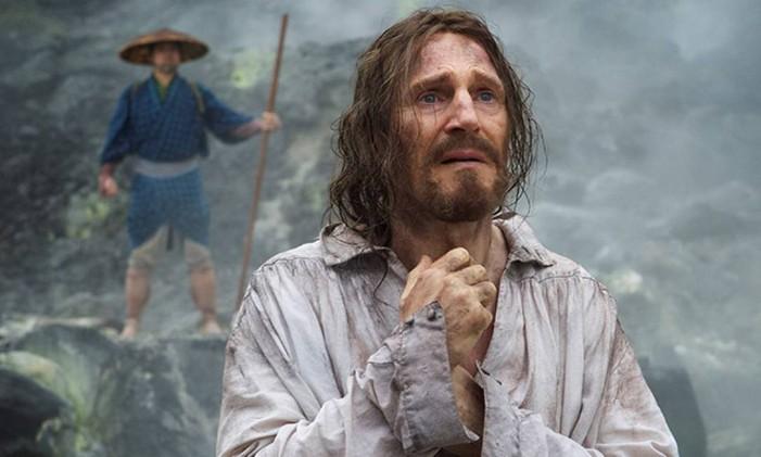 Liam Neeson em 'Silence', de Martin Scorsese Foto: Divulgação
