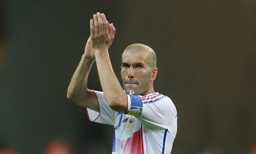 Na Copa de 2006, de novo com Zidane em campo, o Brasil foi derrotado pela França Fernando Maia