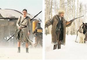 Cenas dos novos filmes de J.J. Abrams e Quentin Tarantino Foto: Reprodução