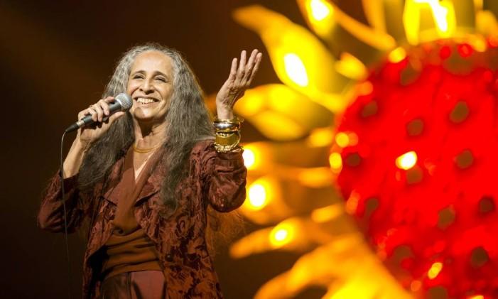 Cantora Maria Bethânia completa 50 anos de carreira Foto: Leo Martins / Agência O Globo