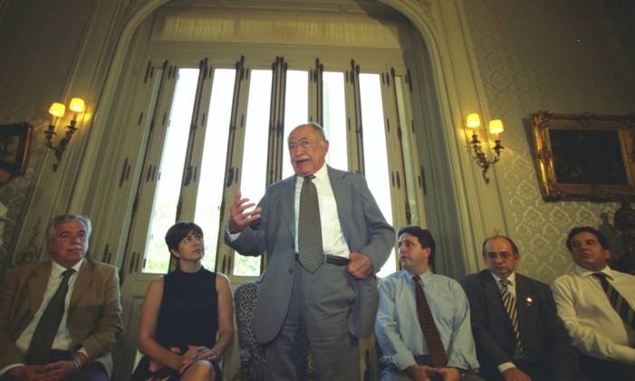 Miguel Arraes foi prefeito, deputado estadual e federal, além de três vezes governador de Pernambuco Foto: Michel Filho / O Globo