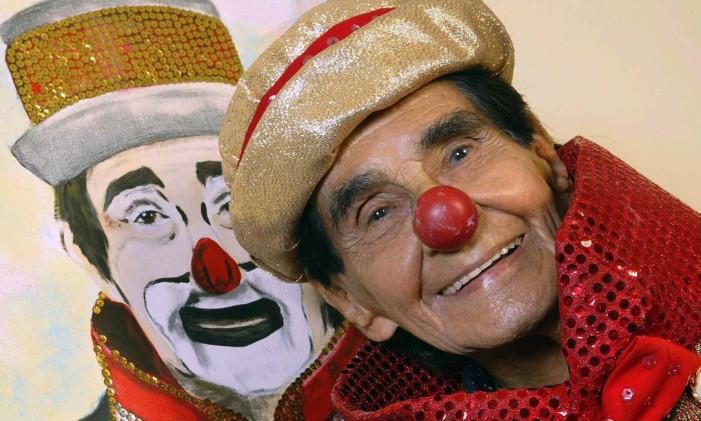 George Savalla, o palhaço Carequinha, será o homenageado pela Unidos do Porto da Pedra Foto: Fábio Guimarães / O Globo