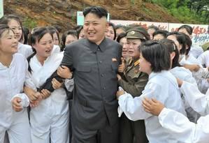 Supremo Líder. Prestes a completar 33 anos, Kim Jong-un aprovou teste com bomba de hidrogênio, levando adiante planos de intensificar poderio bélico da Coreia do Norte Foto: © KCNA KCNA / Reuters / REUTERS/16-7-2013