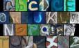 A Nasa coletou e organizou uma série de imagens feitas do espaço mostrando letras do alfabeto