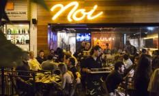 Cervejaria NOI, de Niterói, tem filial no Leblon Foto: Fernando Lemos / Fernando Lemos