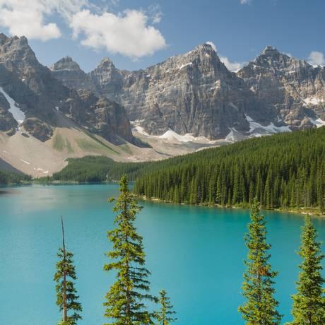 O Parque Nacional Banff, no Canadá Foto: Florian Fuchs / Creative Commons