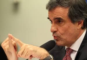O ministro da Justiça, José Eduardo Cardozo Foto: Jorge William / O Globo /Arquivo