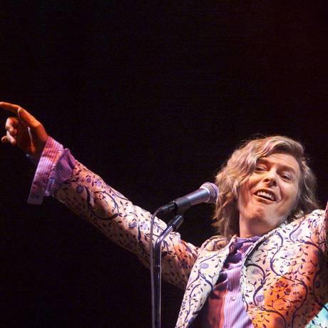 Bowie foi headliner do Glastonbury em 2000 Foto: DAN CHUNG / REUTERS