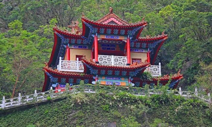 Templo em Taiwan Foto: Anisha Shah / Reprodução / CNN
